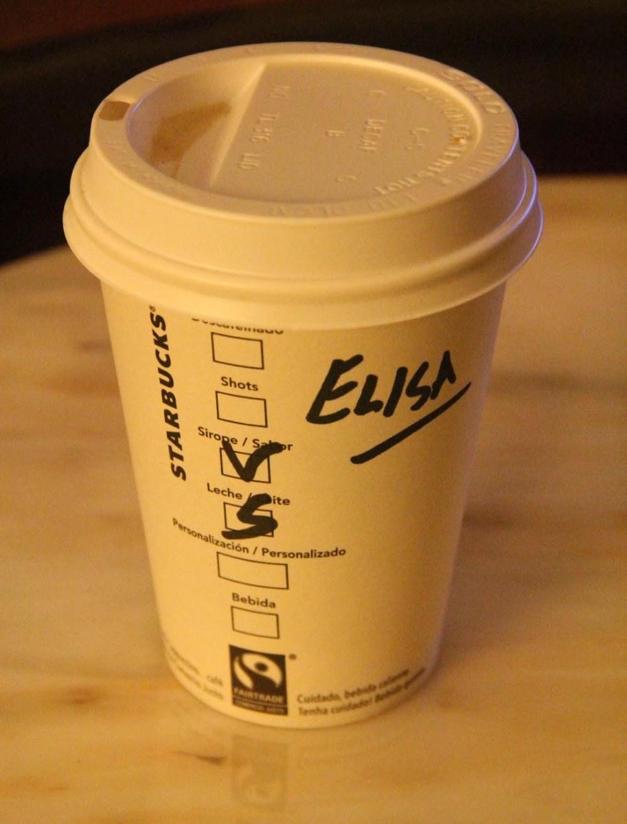 El Starbucks y el recargo de la leche de soja