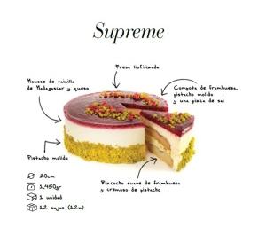 Tarta de queso de Lujuria vegana