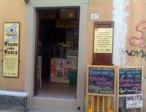 Restaurantes veganos y vegetarianos en Italia