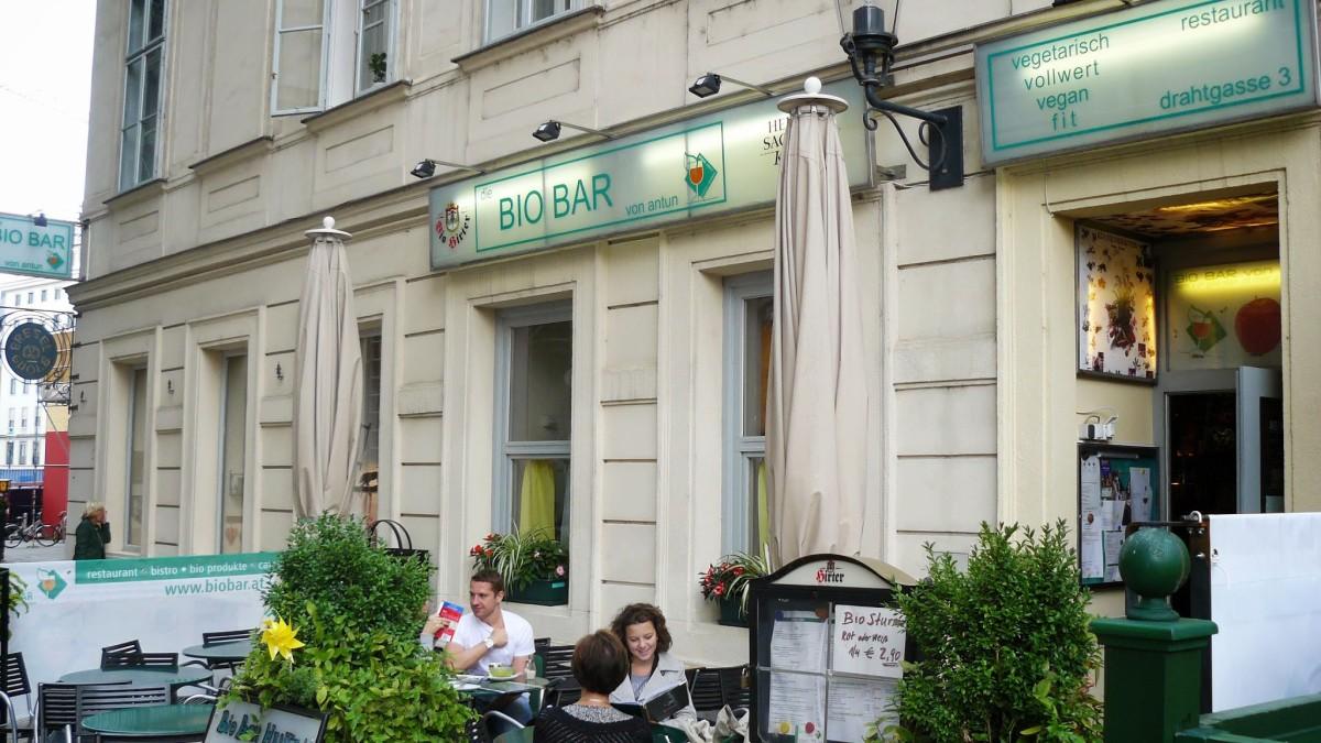 Restaurantes veganos y vegetarianos en Viena