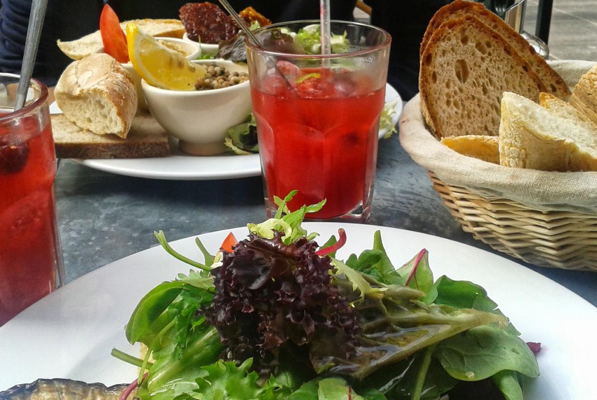 Restaurantes veganos y vegetarianos en Bruselas