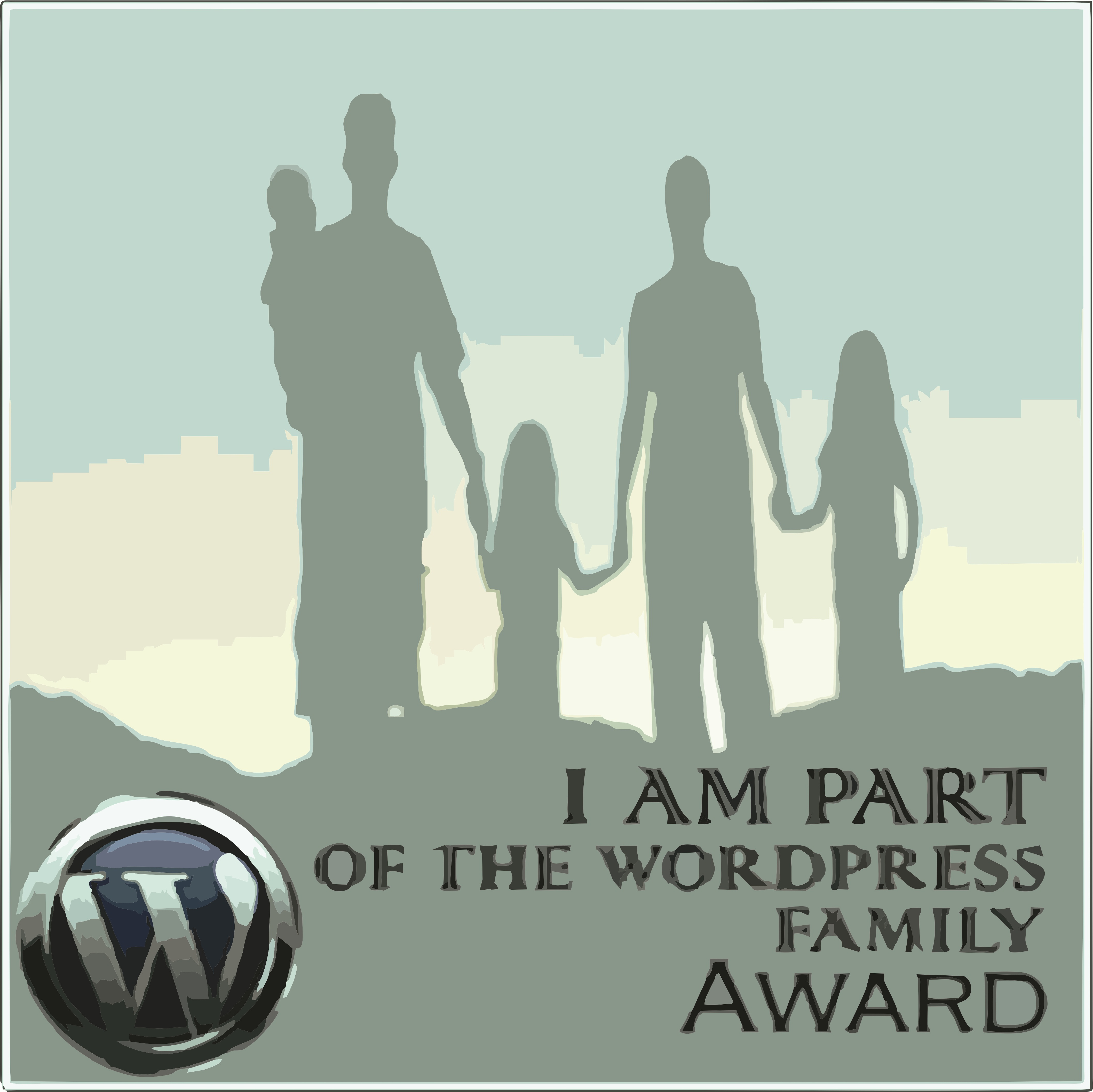 I am part of Wordpress Family Award