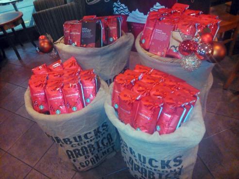 Bebidas de Navidad 2013 de Starbucks