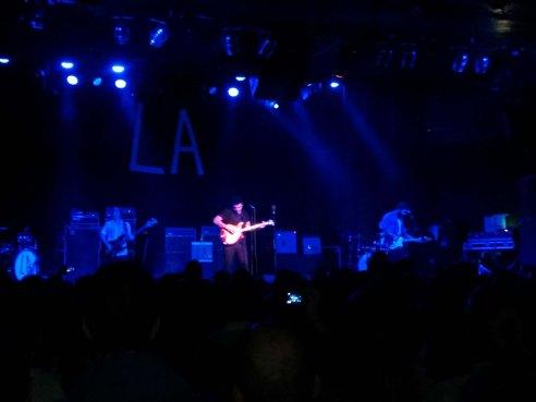 Disfrutando de la música con L.A.