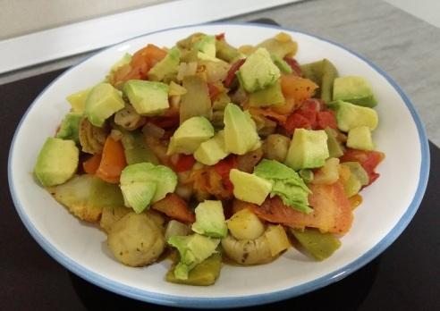 Comida vegana, hipocalórica y saludable