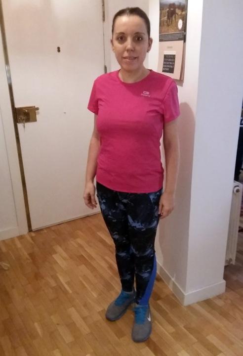 En la recta final, perdiendo peso con una dieta vegana y ejercicio