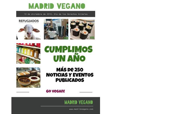 Madrid vegano cumple un año
